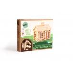 Деревянный бревенчатый конструктор Дом 55 деталей