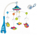 Carousel for baby with music and projector Helicopters and remote control