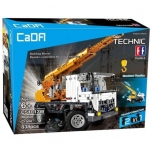 Cada Technik Mobile Crane Block Brick Set, 838 pcs