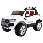 Children ride on car FORD RANGER Facelift 4*4 with EVA wheels (White)