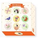 Kleepsude komplekt - 100 Chichi stickers