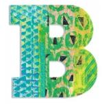 B - Peacock letter