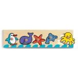 Wooden puzzle - Sea