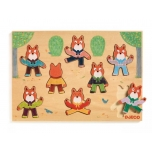 Wooden Puzzle - Foxymatch