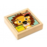 Wooden puzzles blocks - Touranimo