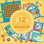 12 классических настольных игр DJECO