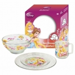 Mealtime set 3pcs. PRINCESS