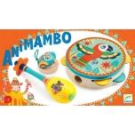 Animambo - Set of 3 instruments: Tambourine, maracas, castan