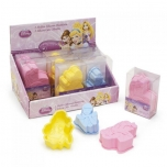 Set of 3 silicon cake moulds 18gr. PRINCESS