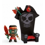 Arty Toys - Pirates - Kyle & ze throne