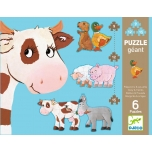 Puzzle - Daisy & friends - 9, 12, 15pcs