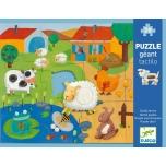 Giant Puzzle - Tactile farm puzzle - 20+8pcs