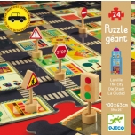 Giant Puzzles-Pop'n Play - The city(24pcs)