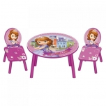 Set table with 2 chairs SOFIA