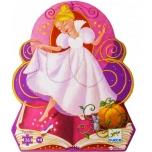 Silhouette puzzle - Cinderella - 36 pcs