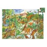 Puzzle - Dinosaurs - 100 pcs + booklet