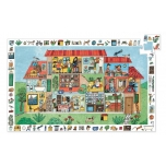 Observation puzzles - The house- 35 pcs