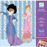 Раскраска История платья
