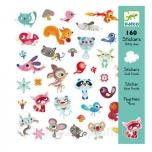 Kleepsud - 160 Stickers - Small friends