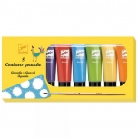 The colours - 8 tubes of gouache - Classic colours