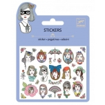 Mini craft pack stickers - Portraits