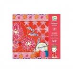 Творческий набор Шелковый шарфик Японский сад DJECO