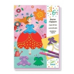 """3 to 6 years - Colouring - Marie""""s Pretty Dresses"""