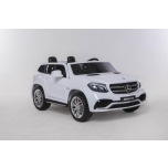 Children ride on car Mercedes GLS63 4W (White)