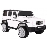 Children ride on car Mercedes G65 (White)