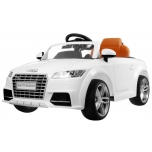 Children ride on car Audi TT (White)