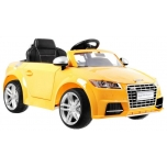 Children ride on car Audi TT (Yellow)