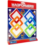"""Magnetic Magformers """"Square Set"""""""