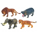 Hand-painted figures Animals Safari