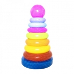 Baby Toddler Toy stacking Rings Pyramid 32cm.