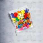 Classic Balloons 10 assorted