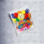 Набор воздушных шаров классик,10 штук.