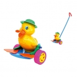 Plastic Push Toy Duck