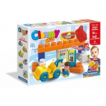 "Clemmy Baby Soft Blocks ""Gas Station"""