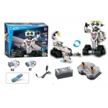 CADA TECHNIK Robot Block Brick Set 710 pcs with motor and battery.