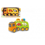 Big Power Kinetic Truck / Transporter with cars set