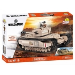COBI World of Tanks - tank CHURCHILL I