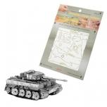 """3D Metallic Puzzle """"Tiger I Tank"""""""