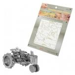 "3D Metallic Puzzle ""Farm Tractor"""