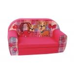 Игрушечный мягкий раскладной диван для  девочек  PETS