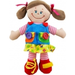 Plush doll-girl 38cm.