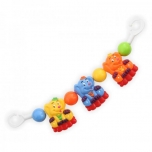 "Plastic rattle for stroller ""Dogs"""