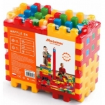 Construction blocks 24pcs.