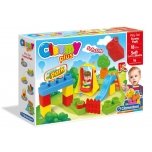 Clemmy Plus Funny Park- Мягкий конструктор (16шт)