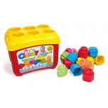 Clemmy Shape Sorter Basket with 18 Soft Blocks
