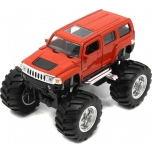 Hummer H3 Metallauto pull back-WELLY
